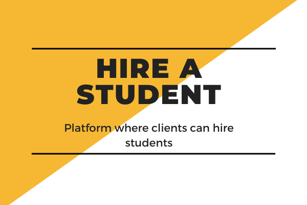 Hire-A-Student-Startup